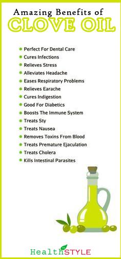 Benefits of Clove Oil