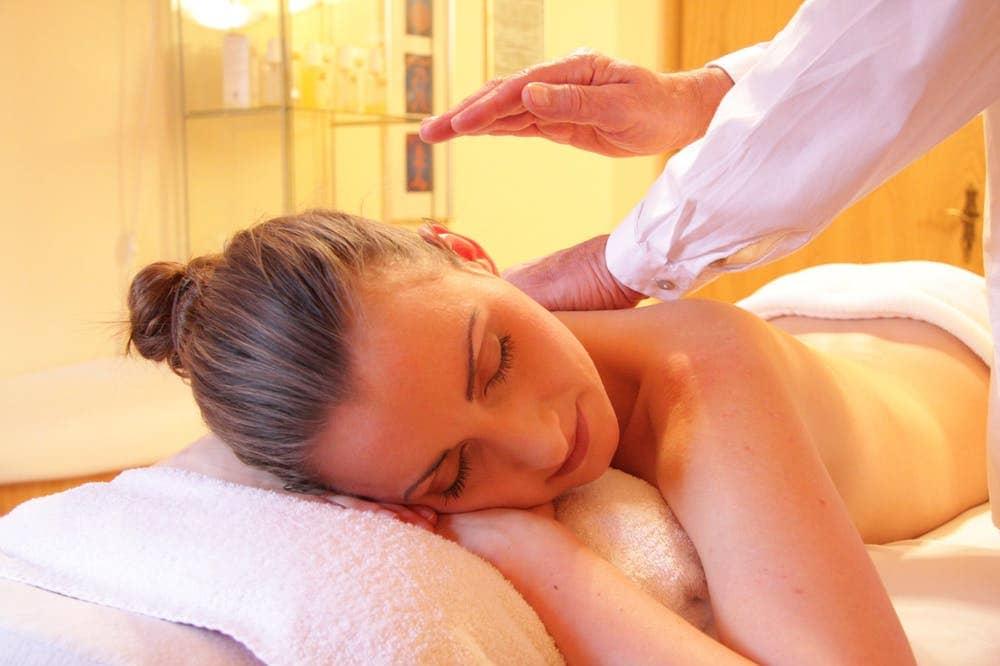 Women Having Massage