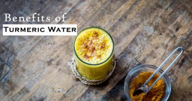 Benefits of Turmeric Water
