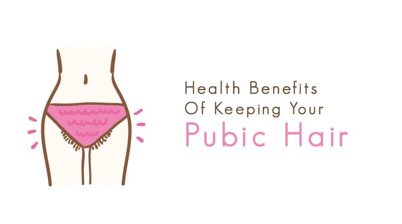 benefits of pubic hair