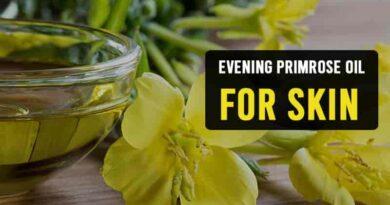 Evening Primrose Oil for Skin